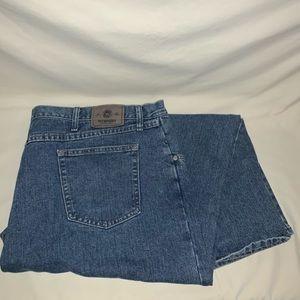 Wrangler Men's Relaxed Fit Jeans Med Wash Sz 46x30